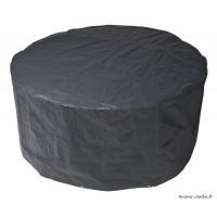 Housse de protection pour mobilier de jardin, table ronde, imperméable, Nature Jardin, achat pas cher