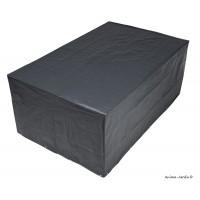 Housse de protection pour mobilier de jardin, table rectangulaire ou ovale, imperméable, Nature Jardin, achat pas cher