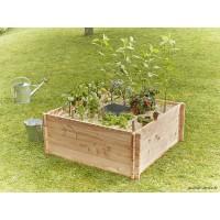 Petit carré potager en bois, Keyhole Garden, 120 x 120 cm, autonome, Mon Petit Potager, achat