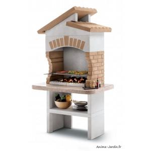 Barbecue en pierre, Tupai, avec hotte, marmotech, charbon de bois, Palazzetti, achat, pas cher