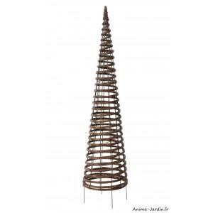 Obélisque, Pyramide, métal, osier, plantes grimpantes, tuteur, Nortène, achat, pas cher