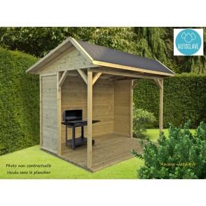 Pavillon de jardin en bois autoclave 19mm, Ronsburg, 5m², Solid, pas cher,  achat, vente