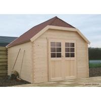Abri de jardin en bois 28mm, Limerick, 10m², 2 portes, Solid, pas cher, achat, vente