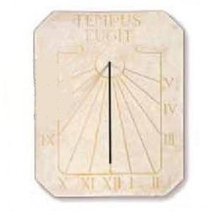 Le Cadran solaire de Jardin, horloge solaire en pierre reconstituée LATINO
