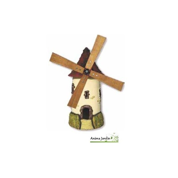 Moulin de jardin tuile d coration de jardin 72cm achat for Achat de decoration