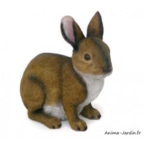 Lapin, 22 cm, animal en poly-résine, décoration du jardin, achat, vente, pas cher