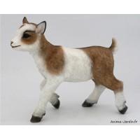 Chèvre, 35 cm, animal en poly-résine, décoration du jardin, achat, vente, pas cher