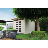Abri de jardin en bois 28mm, Verona, 7 m², lumineux, Solid, achat, pas cher