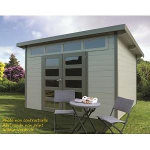Abri de jardin en bois 28mm, Venezia, 9 m², lumineux, Solid, achat, pas cher