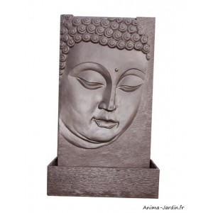 Fontaine murale, Butsu Wengue, pierre reconstituée, bouddha, Framusa, achat