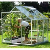 Serre Jardin Aluminium Venus 3800 en verre trempé, 3,80 m², Lams, achat