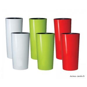 Grand Pot en résine, Color, intérieur - extérieur, contemporain, moderne, Graf, achat, pas cher