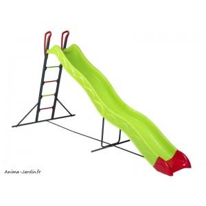 Toboggan, Ezar, 3,32 m de glisse, double vague, Trigano, jeu plein-air, achat, pas cher