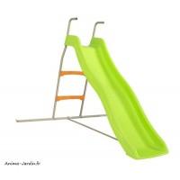 Petit toboggan, Zazou, 1,73 m de glisse