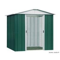 Abri métal vert 2,77 m²