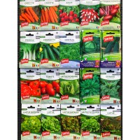 Lot de 20 sachets de graines, légumes, potager, jardin ouvrier, Sanrival, pas cher, économique