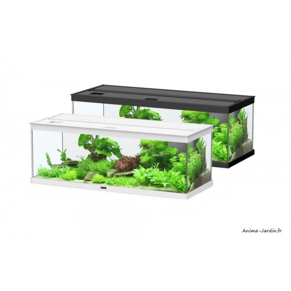 Aquarium Style Led 100 Capacite 124l Inclus Eclairage Et Filtration Aquatlantis Achat Pas Cher