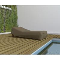 Housse de qualité pour chaise longue, 200 x 80 cm, housse étanche, Nortene, pas cher, achat
