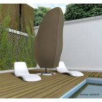Housse de qualité pour parasol, 265 x 80 cm, housse étanche, Nortene, pas cher, achat