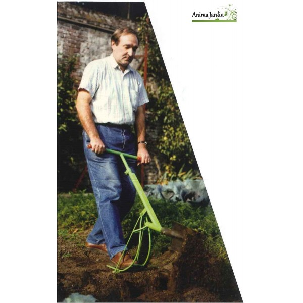 B che automatique sans efforts retourne la terre for Acheter de la terre pour jardin