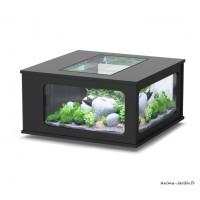 Aquarium, Aquatable, 100x100 cm, capacité 307L, inclus éclairage et filtre, Aquatlantis, achat, pas cher
