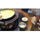 Braséro, Piatto medium Corten, ø 84 cm, aspect rouillé naturel, Quoco, braséro 3 en 1, plancha, barbecue, Fargau, achat
