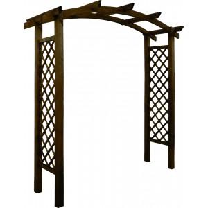 Pergola, Akébia, en bois autoclave, arche, support plantes grimpantes, pergola ligne droite, pas cher, achat