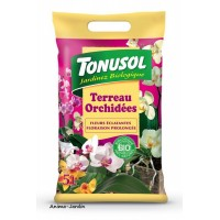 Terreau Orchidées Bio, sac de 5 L, jardinage, potager, achat, pas cher