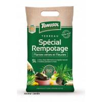 Terreau Rempotage Bio, sac de 5 L, toutes plantes, fleurs, jardin, jardinage, potager, achat, pas cher