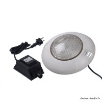 Spot, piscine, éclairage LED blanc chaud, spot 350 Plus, Ubbink, achat, pas cher