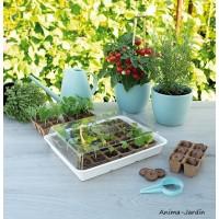 Serre de culture, 30 pots, éco-serre, semis, jardin, graines, jardinage, culture, achat, vente, pas cher