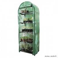 Petite serre de jardin et balcon, 5 étages, Hauteur 175 cm, protection froid, achat, pas cher