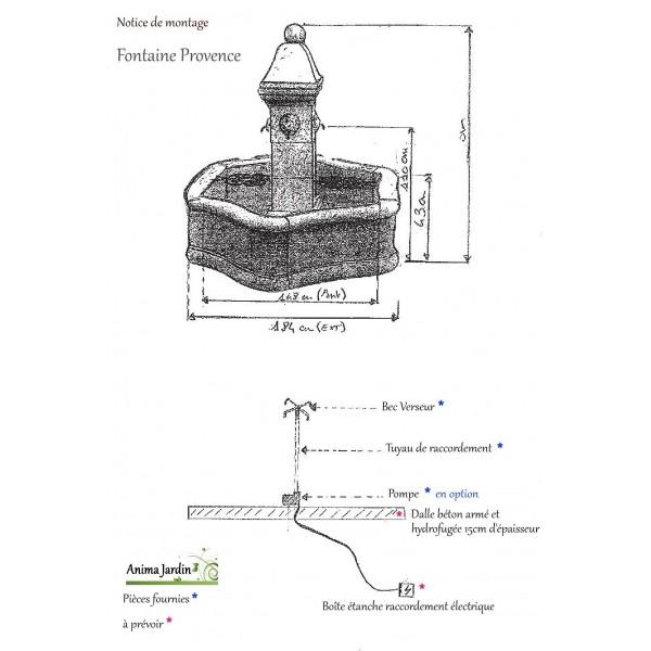 beautiful acheter fontaine de jardin en pierre photos. Black Bedroom Furniture Sets. Home Design Ideas