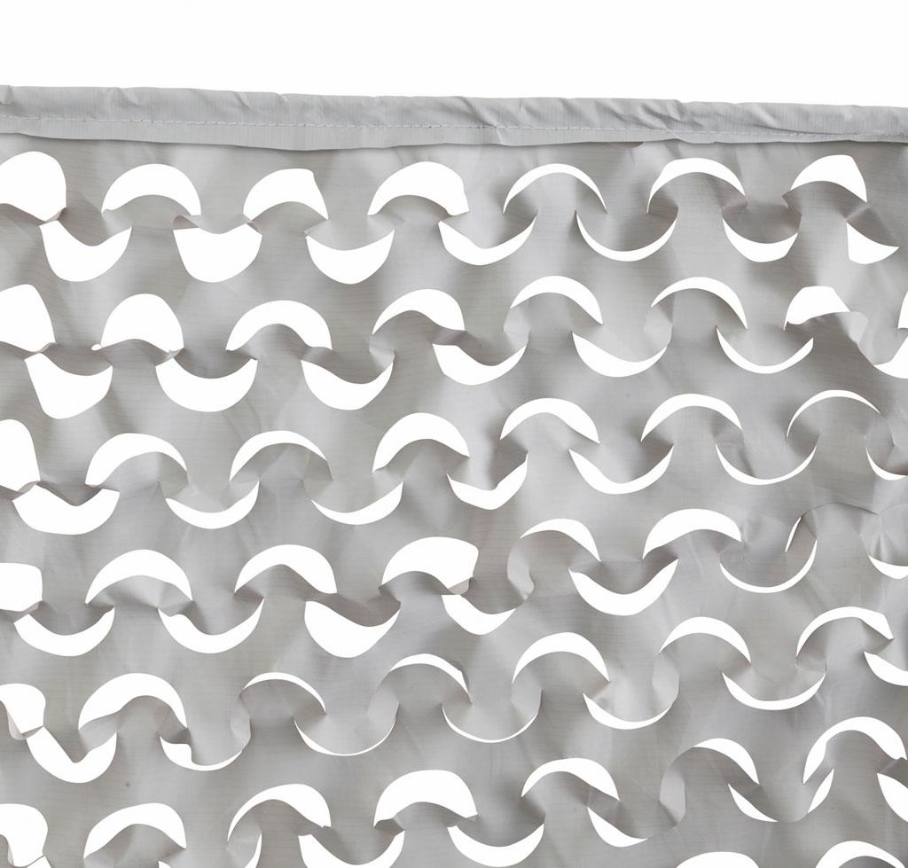 Filet d'ombrage gris