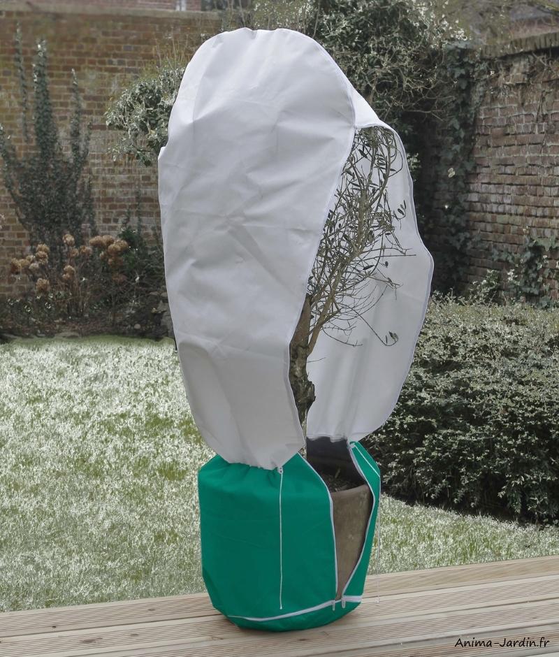 Housse hivernage avec zip-Winterzip-protection contre le froid-Nortene-achat-pas cher