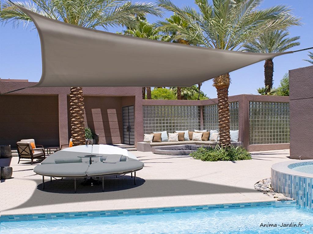 Voile d'ombrage-élastique-carré-Sunnet Kit Elastic-waterproof-Nortène-Anima-Jardin.fr