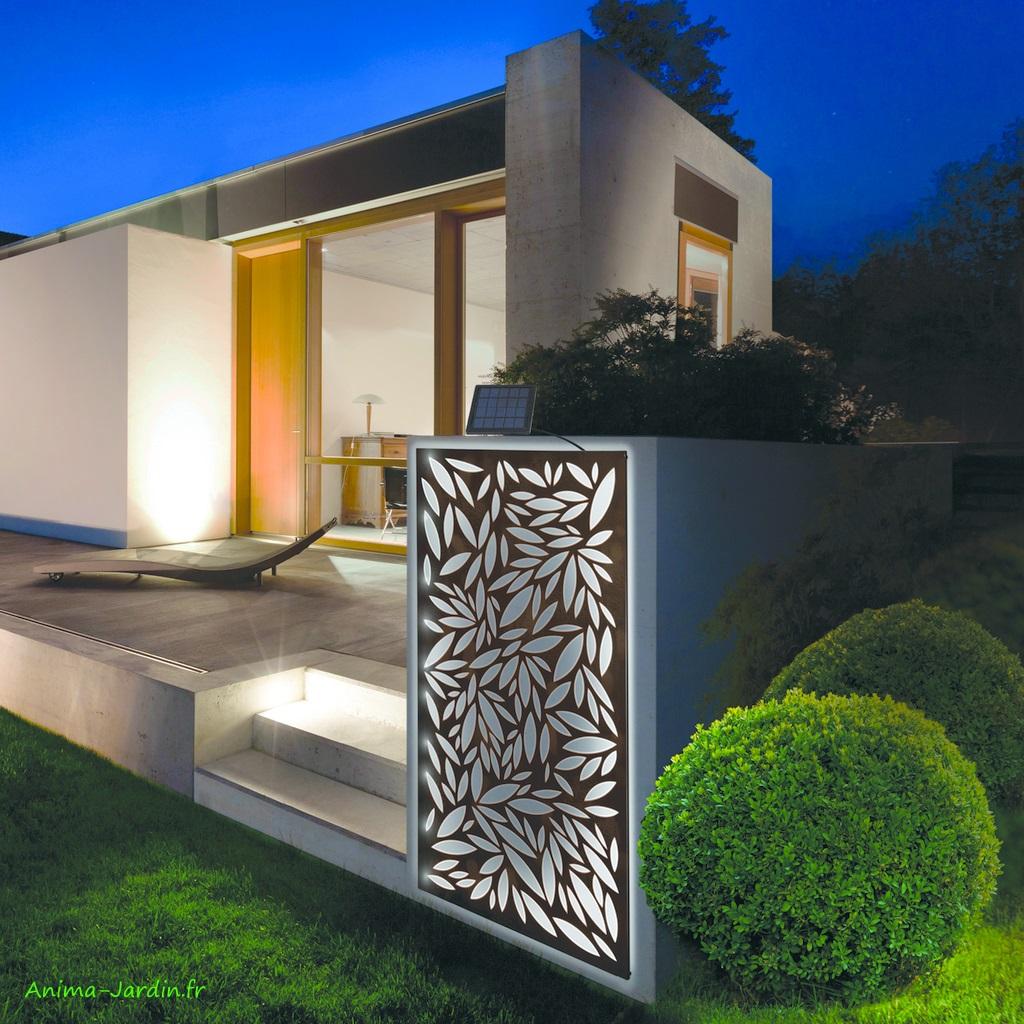 Panneau décoratif avec ruban solaire lumineux-Solart Panel-Nortène-achat-Anima-Jardin.fr