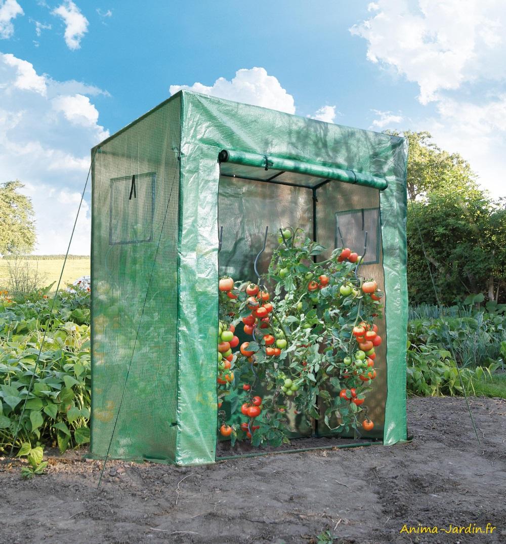 Serre à tomates-serre de jardin-housse renforcée-potager-protection froid-serre pas cher-Nature Jardin-Anima-Jardin.fr