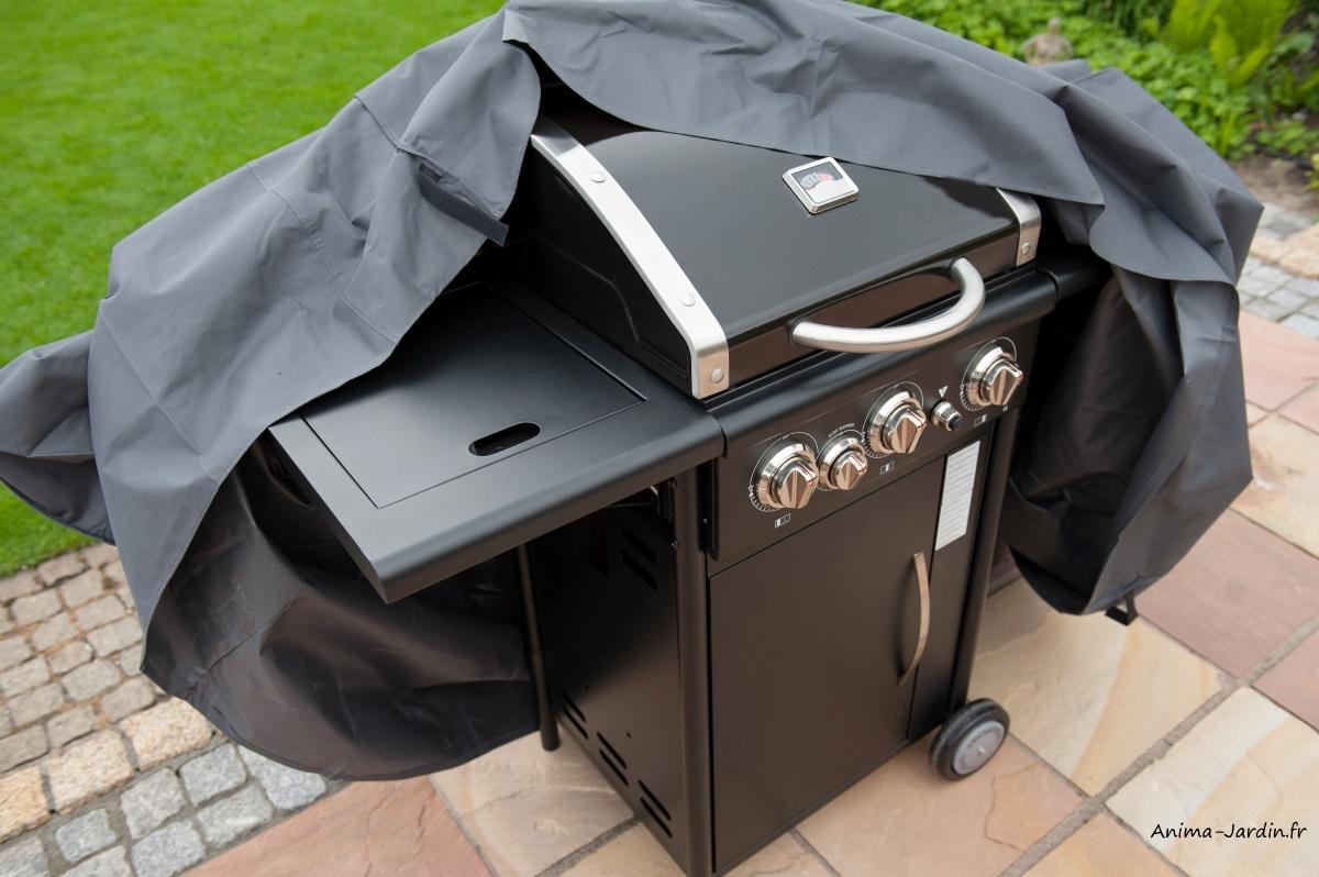 Housse de protection pour barbecue-imperméable-Nature Jardin-Barbecue à gaz-Anima-Jardin.fr