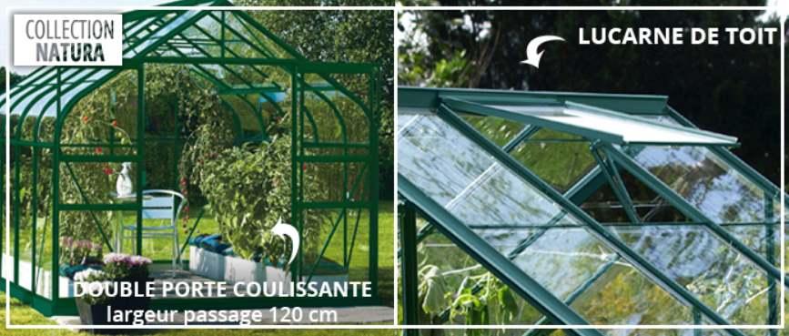 Lucarnes et porte double-serre-Lams-Anima-Jardin.fr