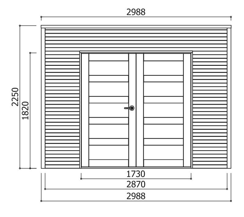 Abri en bois autoclave-Bari-8m²-chalet-cabane-dimensions-Anima-Jardin.fr