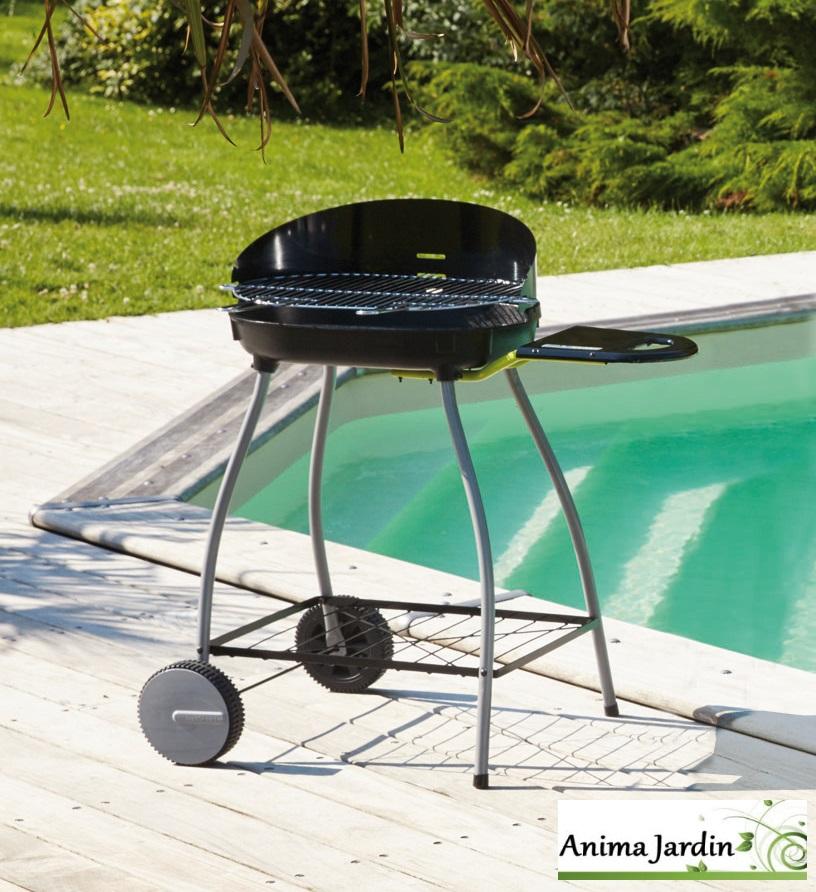 Barbecue-charbon de bois-Isy Fonte 1-barbecue en fonte-Anima-Jardin.fr