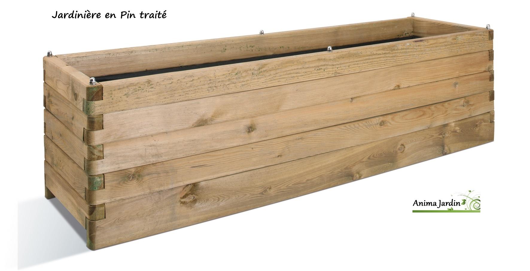 Grande-jardinière-bois-traité-180cm-anima-jardin.fr