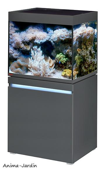 Aquarium Incpiria Marine 230 avec meuble, kit complet, éclairage, filtre, chauffage, Eheim, achat, pas cher