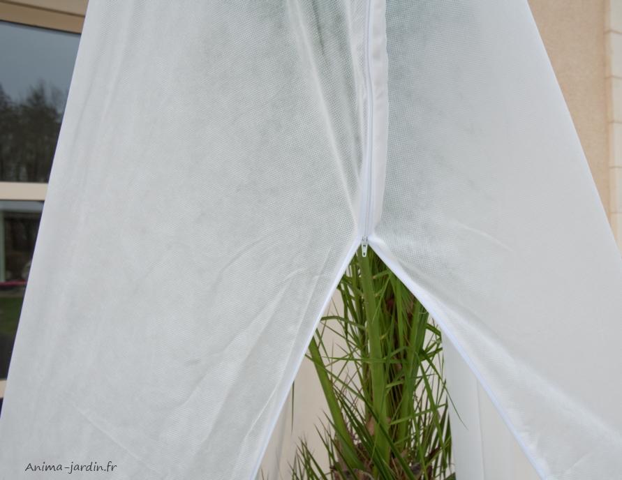 grande housse hivernage plantes x2 protection contre le froid nort ne hiverzip. Black Bedroom Furniture Sets. Home Design Ideas