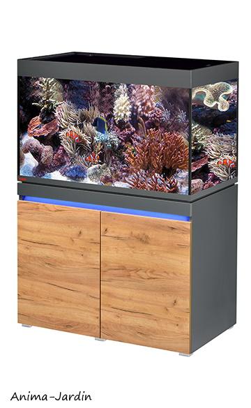 Aquarium Incpiria Marine 330 avec meuble, kit complet, éclairage, filtre, chauffage, Eheim, achat, pas cher