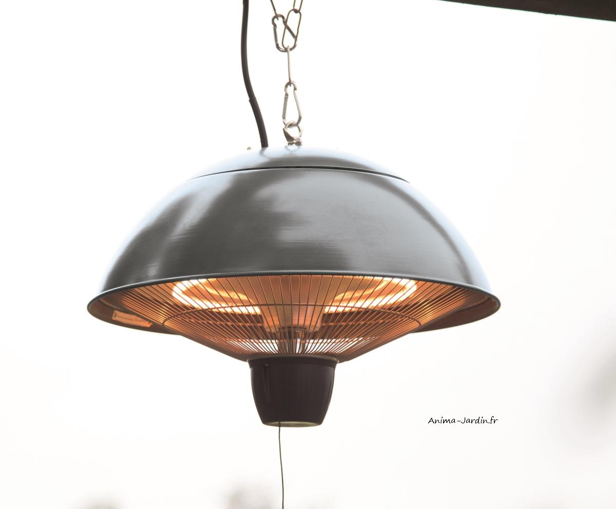 Chauffage pour terrasse, ASTRO, extérieur, Lampe chauffante suspendue-anima-jardin.fr