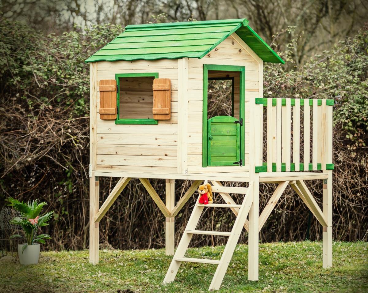 Maisonnete-enfant-pilotis-bois-couleur-anima-jardin.fr