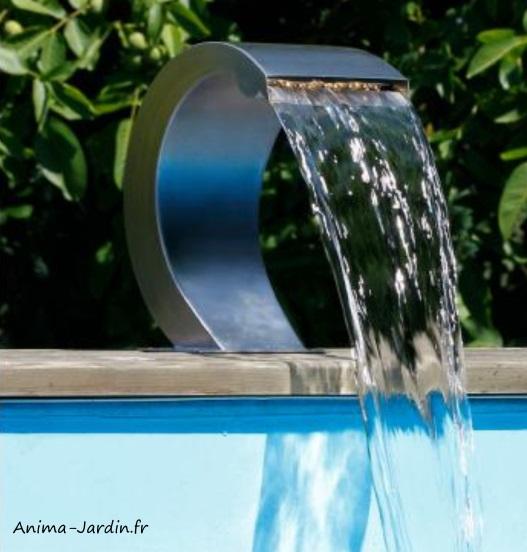 Cascade Mamba S-LED-piscine-étang-décoration-Ubbink-Anima-Jardin.fr