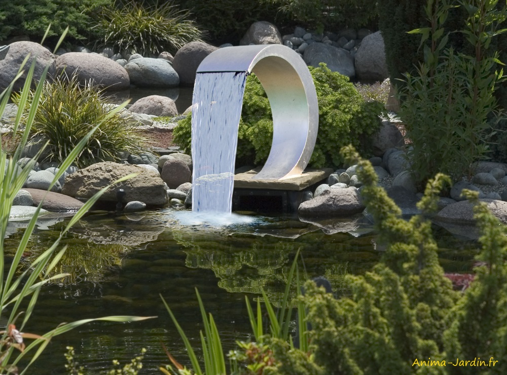 Cascade Mamba-piscine-étang-décoration-Ubbink-qualité-Anima-Jardin.fr